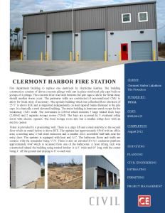 Clermont Harbor Fire