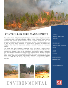 Controlled Burn Management