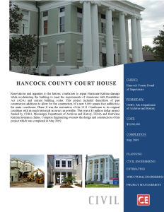 Hancock County Court House