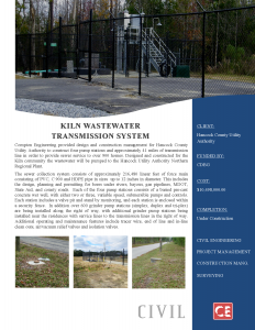 Kiln-Wastewater-Collection-Transmission System