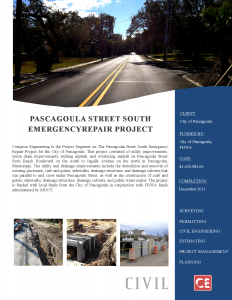 Pascagoula-Street South Emergency Repair Project