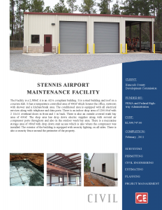 Stennis Airport Maintenance Facility