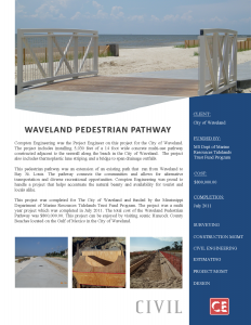 Waveland Pedestrian-Walking-Path-Waveland-Civil